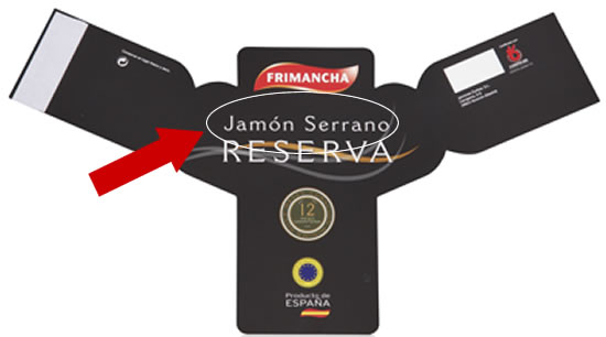 The Serrano Ham label