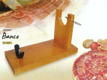 Cheap Wood Ham Holder