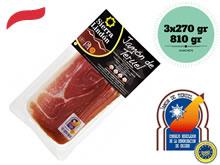Sliced Teruel Serrano Ham