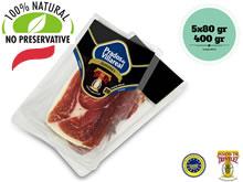 Sliced Trevelez Serrano Ham